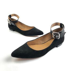 Corso Como Ramona Black Pointy Toe Flats NEW Sz 7